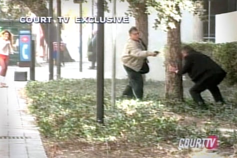 Image: Courthouse shooting