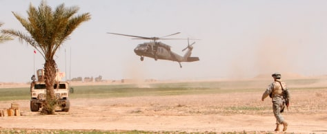 IMAGE: U.S. HELICOPTER NEAR SAMARRA