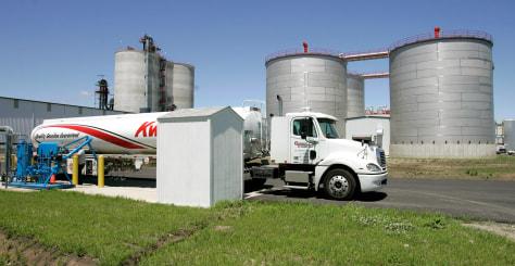 Ethanol tanker