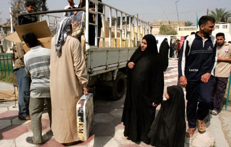 Image: Refugee camp
