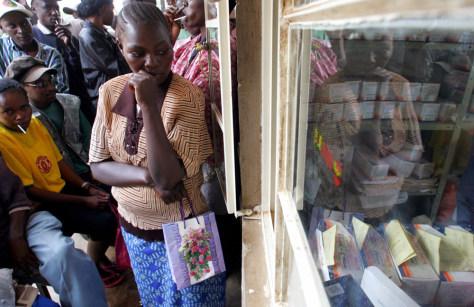 Image: Kenyan villagers