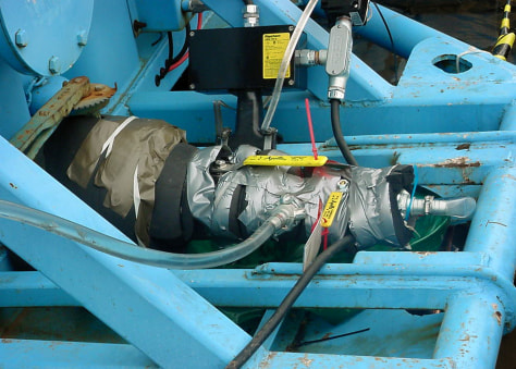 IMAGE: VALVE AT NUCLEAR PLANT COVERED IN DUCT TAPE