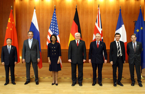 IMAGE: Top diplomats in Berlin