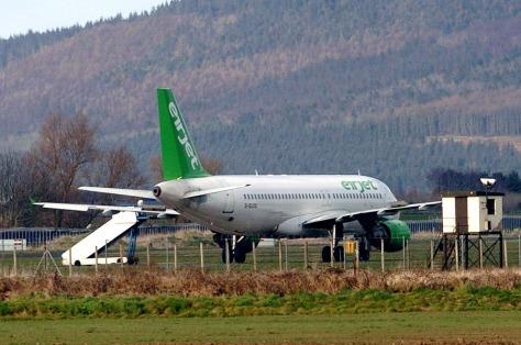 Pilot makes a Derry error