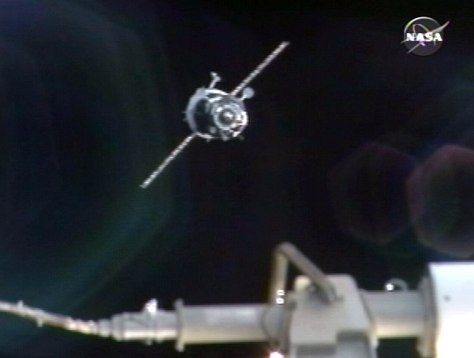 Image: Soyuz docks with space station