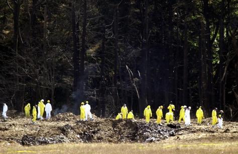 Image: Flight 93 debris