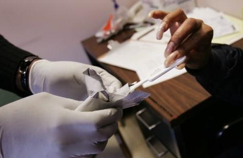 Image: Quick AIDS testing
