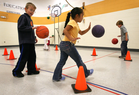 Daily PE class a remnant of the past? - Health - Children ...