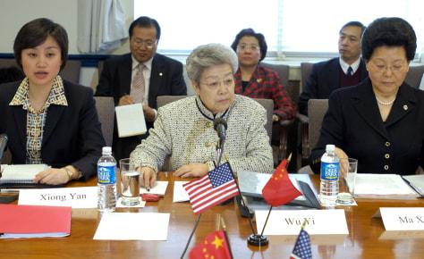 China's Wu Yi