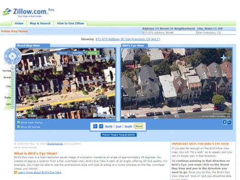 Zillow.com Web site