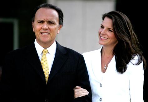 Richard Scrushy and wife