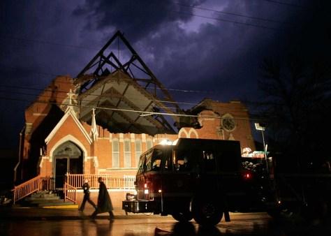 IMAGE: DAMAGED CHURCH