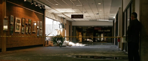 Image: Damaged terminal