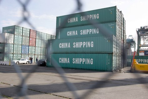 IMAGE: SHIPPING CONTAINERS USED TO SMUGGLE CHINESE
