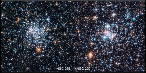 Image: Star clusters