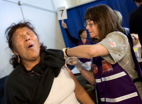 Image: Vaccination drill