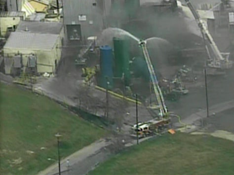 Image: Industria fire in Cleveland