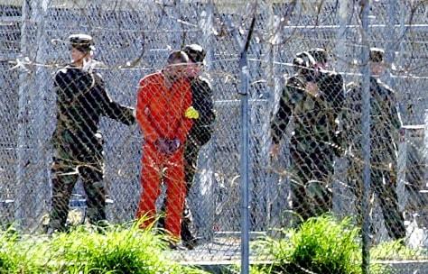 IMAGE: Guantanamo Bay detainee