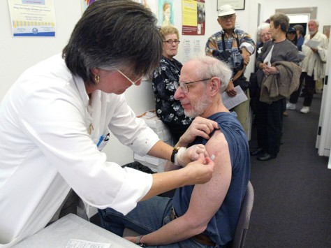 Image: Flu shot clinic
