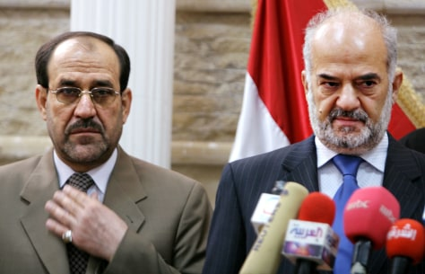 Image: Al-Maliki and al-Jaafari