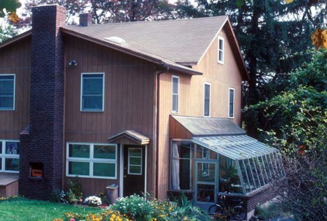 Image: Energy-efficient home