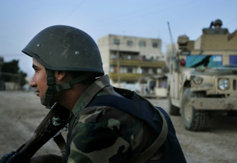 Image: Iraqi commando