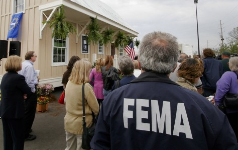 IMAGE: FEMA EMPLOYEE IN LOUISIANA