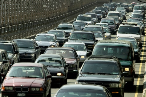 Image: Rush-hour traffic