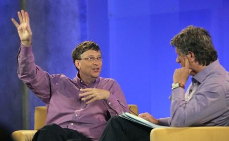 Bill Gates, Donny Deutsch
