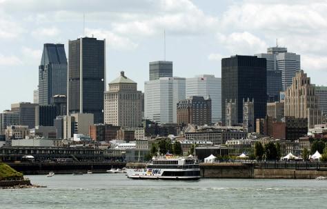 Image: Montreal skyline