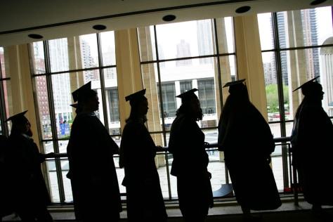 Marymount Manhattan College grads