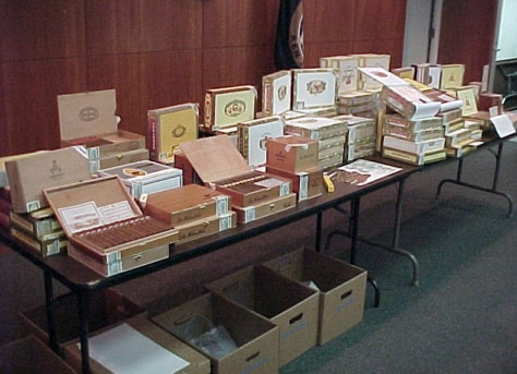 Image: Counterfeit cigars