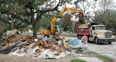 Image: Katrina cleanup