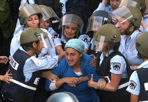 Image: Israeli settler
