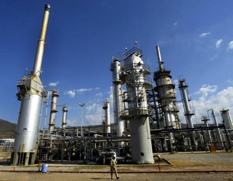 Image: Petróleos de Venezuela plant