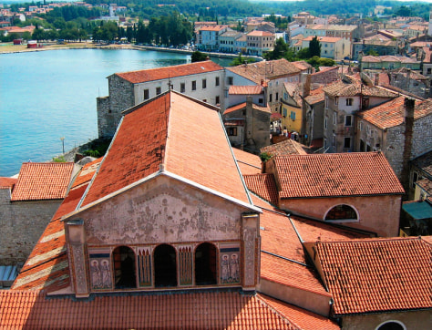 Image: Croatian rooftops.