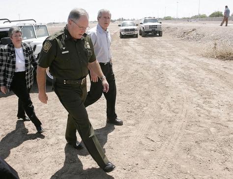 George W. Bush, Ron Colburn, Janet Napolitano,