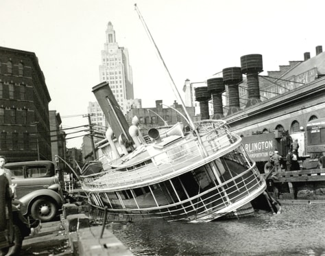 IMAGE: 1938 HURRICANE DAMAGE