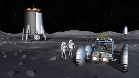 Image: Lunar base