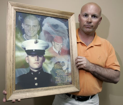 Image: Father of fallen soldier