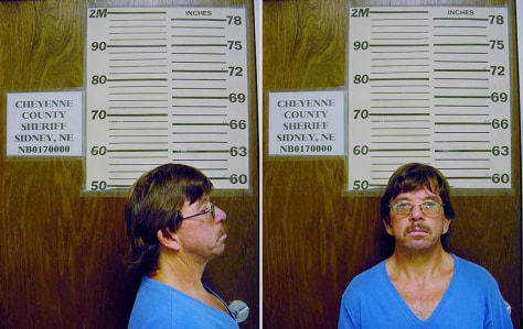 Nebraska Sheriff's office booking photo shows Thompson in 2005