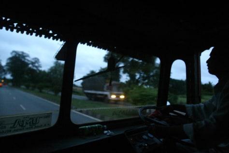 Image: India trucking routes