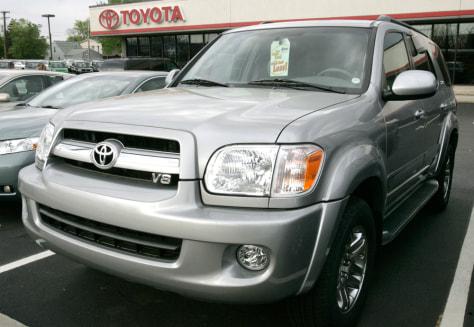 Toyota auto lot
