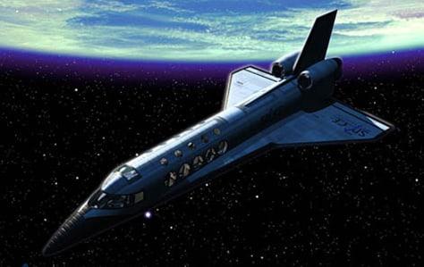 Image: Suborbital spaceship