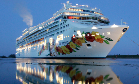 Image: Cruise ship Pride of Hawaii