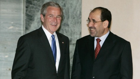 Image:Bush and al-Maliki