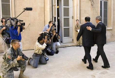 Image: President Bush and Iraqi Prime Minister Nouri al-Maliki