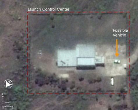 Image: North Korea missle launch site