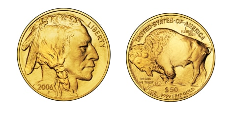 Image: The American Buffalo coin