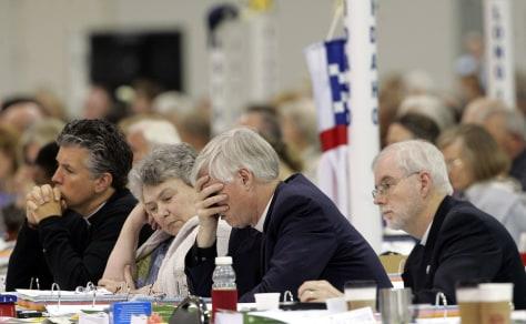 Image: Episcopal delegates